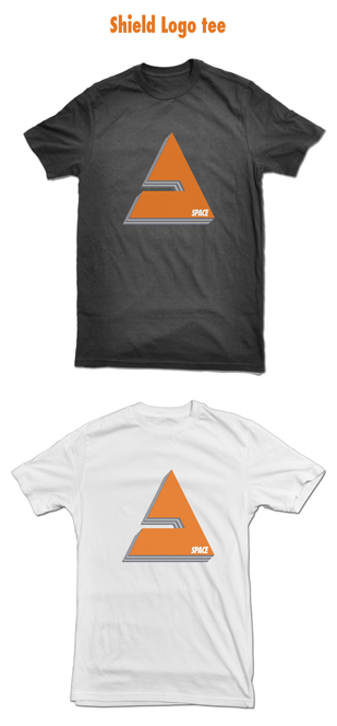 T-shirt with Space Shield logo